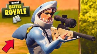 FORTNITE-THE SHARK MAN!!! (NEW LEGENDARY SKIN)