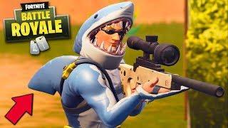 FORTNITE-THE SHARK MAN!!! (NEUE LEGENDARY SKIN)