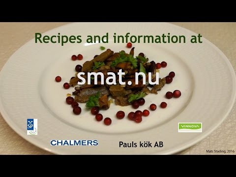 Smat - a vegetarian alternative to meat