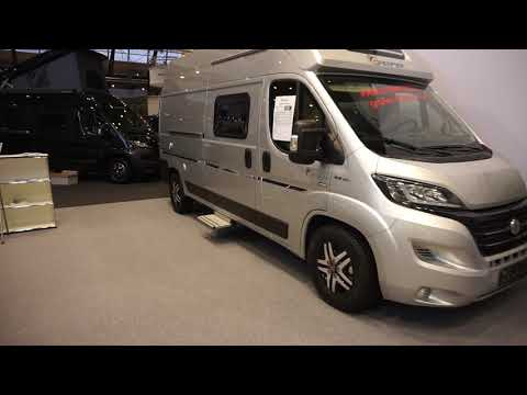 Ducato campervan with plenty of light.  Dreamer D68 Limited