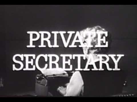 PRIVATE SECRETARY CBS SITCOM ORIGINAL OPENING CREDITS