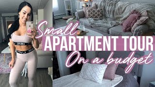 SMALL APARTMENT TOUR | GLAMOR ON A BUDGET