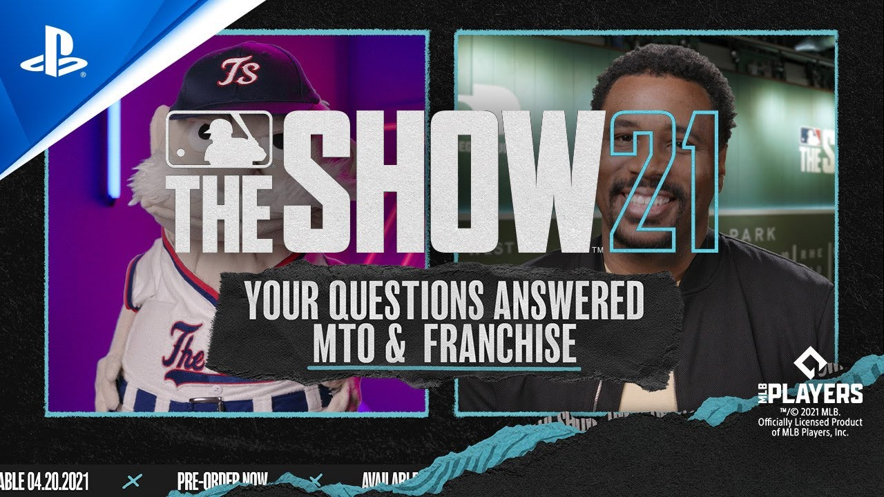 MLB The Show 21 – Your Questions Answered on MtO & Franchise | PS5, PS4