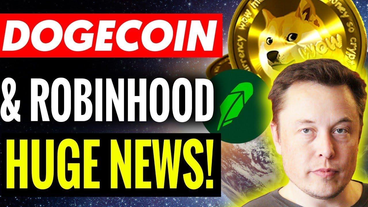 Robinhood: Buy Dogecoin Before It's Too Late l Dogecoin News