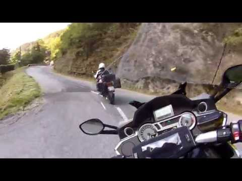 Col de la Madeleine en BMW K1600 GTL