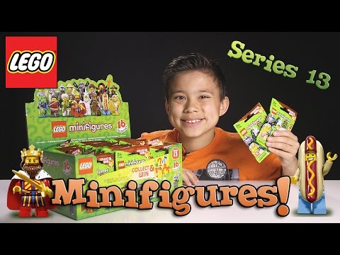 LEGO MINIFIGURES Series 13 BLIND BAG Opening - Cool Surprises!