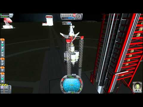 Test Flying A Rocket Designed By A Child - Kerbal Space Program
