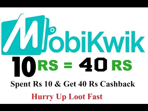 Mobikwik 400% Cashback Hurry Up Loot Fast Must Watch [Hindi]