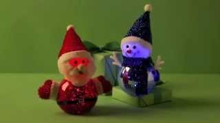 80215-20 LED Snowman & Santa Thumbnail