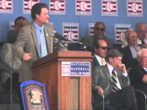 Wade Boggs Hall of Fame Induction speech