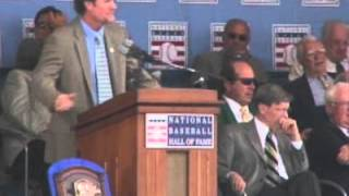 Wade Boggs Hall of Fame Induction speech - 2005