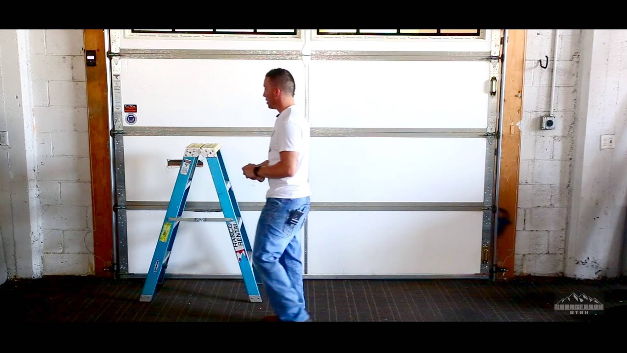 Garage Doors Lubricate All Moving Parts Of Your Garage Youtube