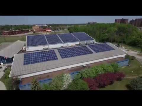Large-Scale Ottawa Solar Initiative - Drone Footage