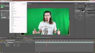 How to key out Green Screen in Adobe After Effects using Key Light 1.2