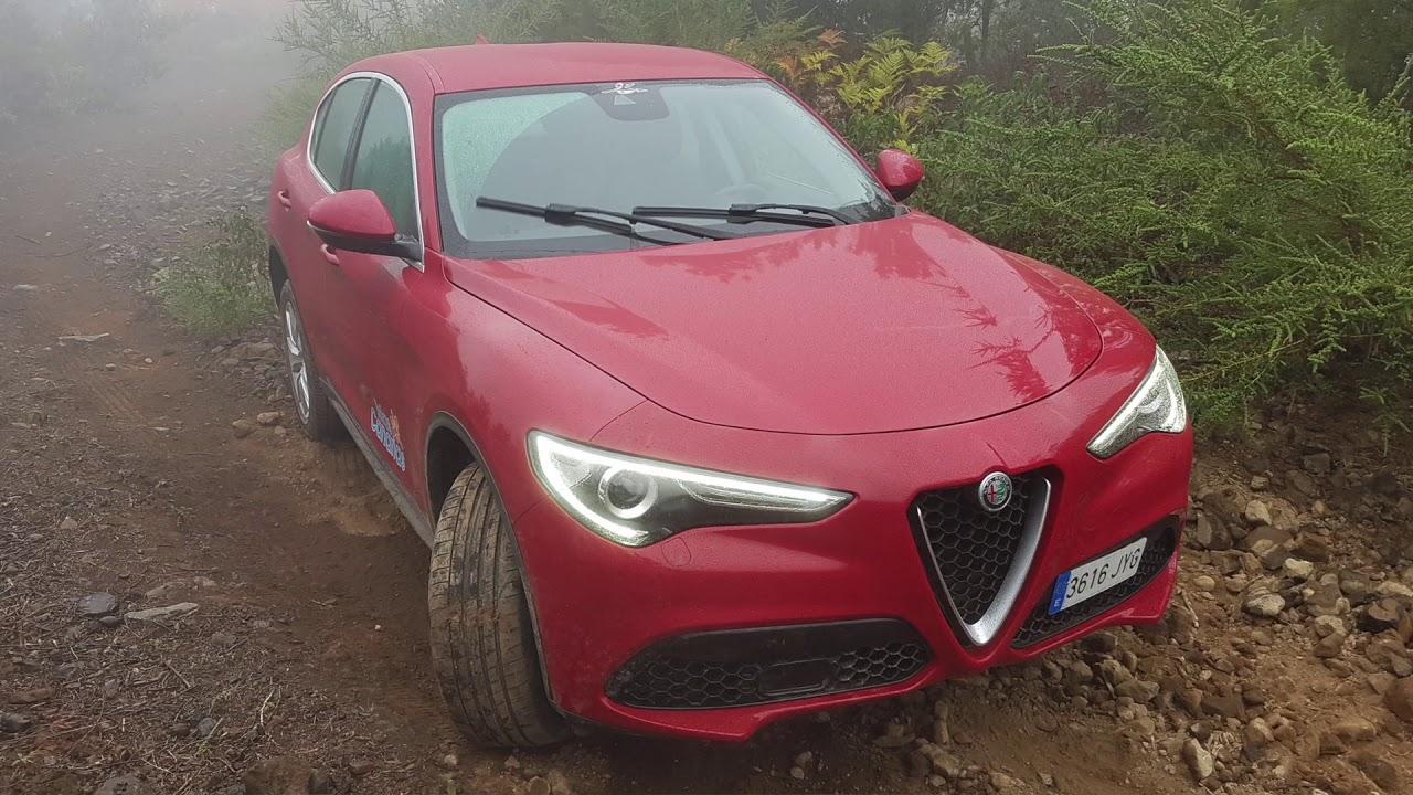 Alfa Romeo Stelvio Review Off Road Youtube