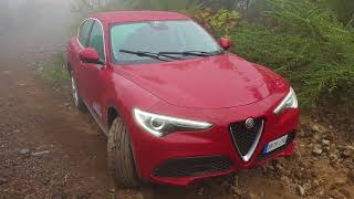 Alfa Romeo Stelvio Review (Off-road)