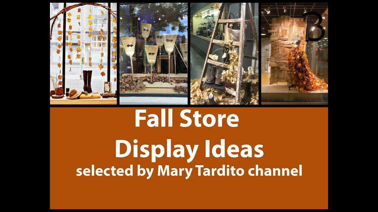 Fall Store Display Ideas Fall Decorating Ideas Youtube