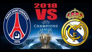 Real Madrid 3 1 PSG Champions LeaguePromo  14/02/2018 HD