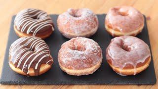 基本のイーストドーナツの作り方 Yeast Donuts|HidaMari Cooking