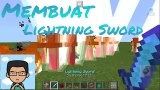 Membuat Lightning Sword No mods No addons