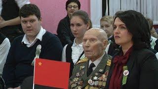 В Волгограде лицеисты удивили фронтовиков познаниями истории Великой Отечественной войны