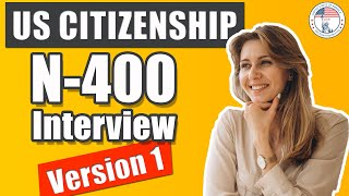 2019 US Citizenship Interview Mock Interview N-400