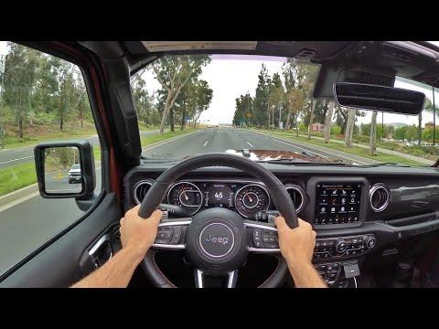 2021 Jeep Wrangler Rubicon 392 HEMI V8 POV Test Drive (3D Audio)(ASMR)