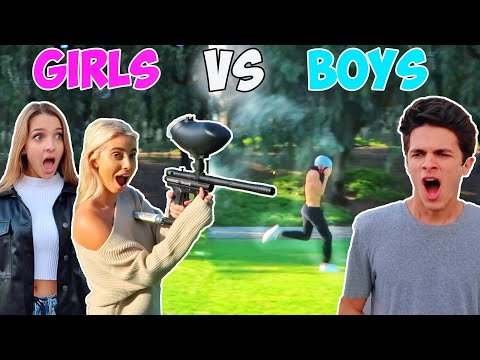 BOYS VS. GIRLS PUBLIC DARES!