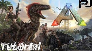 ark survival evolved jak sthnout tutorial