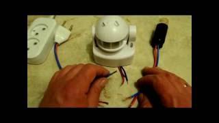 датчик движения(На видео представлен обзор датчика движения. Посмотрев видео вы узнаете как работает и как правильно подкл..., 2015-08-07T16:32:12.000Z)