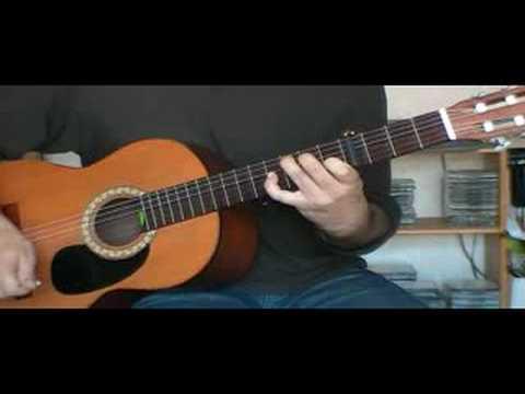 Accompagner Les Champs-Elysées à la guitare sèche ( Cours de guitare débutant)