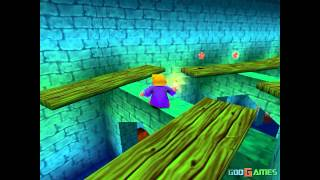40 Winks - Gameplay PSX (PS One) HD 720P (Playstation classics)