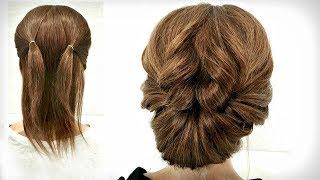 15 Пучков для Коротких волос из Резинок Быстрые Прически 15 Bundles for Short Hair made of Elastics