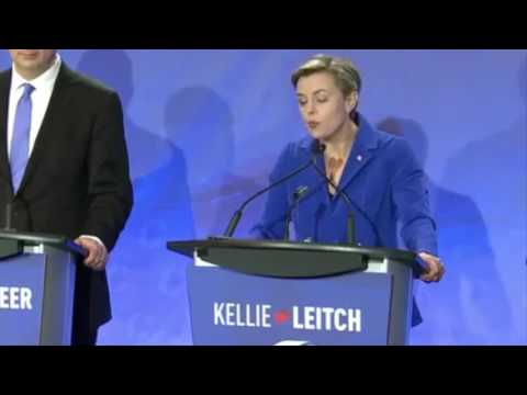 Kellie Leitch's squeaky French
