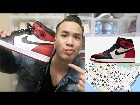 "(MUST WATCH) HOW TO COP JORDAN ""BRED TOE"" 1 