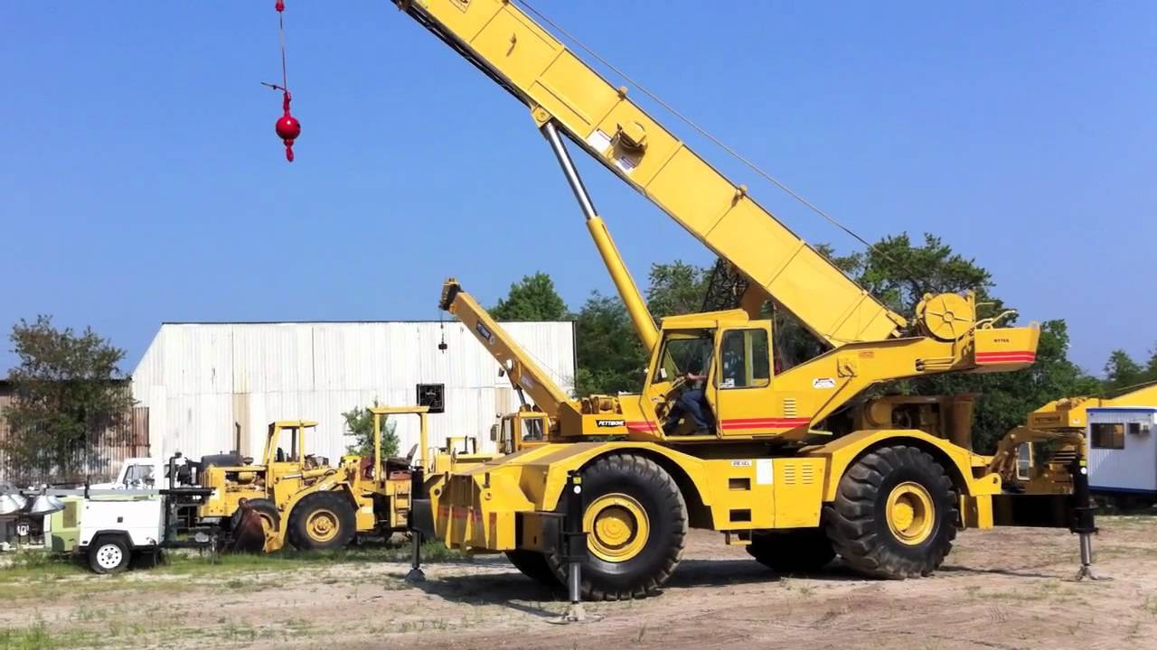 1973 Grove Rt 75s Crane For Sale By Big Iron Inc Youtube