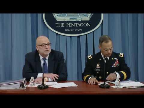 Defense Dept: 5-23-17. Pentagon Press Brief On 2018 Fiscal Defense Budget Proposal.