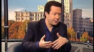 Телеведущий Игорь Жуков, программа Культурная Столица