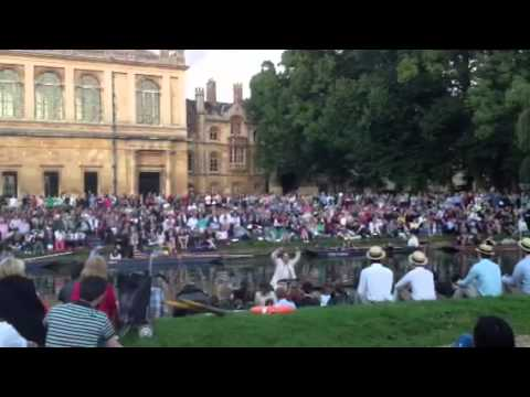 Amazing Grace: Trinity College choir: songs on the Cam 2014