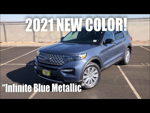 2021 Ford Explorer Limited Short Review (NEW COLOR!)