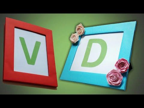 Photo Frame   How To Make A Beautiful Photo Frame   DIY Photo Frame With Cardboard