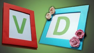 Photo Frame | How To Make A Beautiful Photo Frame | DIY Photo Frame With Cardboard