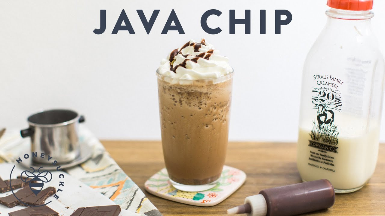 Gallery For > Java Chip Frappuccino Recipe