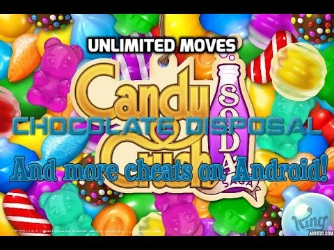 Candy Crush Soda Saga Cheat - Unlimited Moves, Chocolate Disposal + BONUSES (Rooted Android Devices)