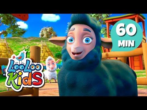 Baa, Baa, Black Sheep - Cute Songs for Children | LooLoo Kids