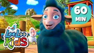 Baa, Baa, Black Sheep - Cute Songs for Children | LooLoo Kids