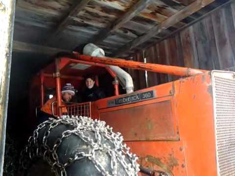 Timberjack 360 beim starten - YouTube