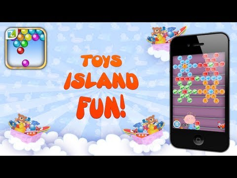 Bubble Shooter Adventures Toys Island Fun | Mobile Game By Zariba