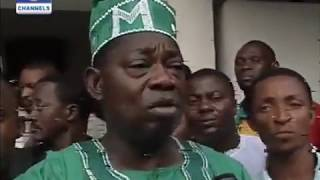 HISTORY: Omoyele Sowore & other students' activists standing With MKO Abiola after 1993 election
