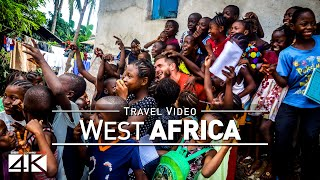 【4K】Footage | One month in WEST AFRICA ..:: From Senegal to Liberia 2018